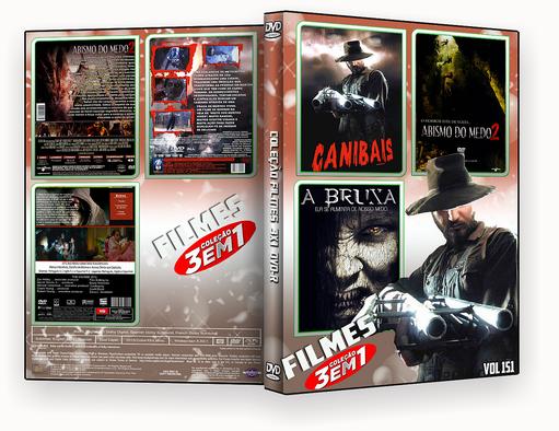 CAPA DVD – COLEÇÃO FILMES DVD-R VOL 151 – ISO