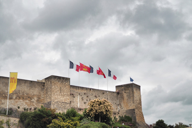 Château de la ville de Caen