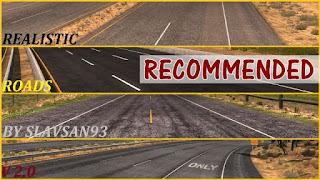 Realistic Roads v2.0 for American Truck Simulator