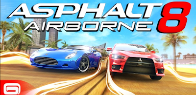 Asphalt 8: Airborne v2.1.0l [Mega Mod] full APK Free Download | Android Games