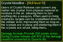 naruto castle defense 6.0 Crystal release Crystal Bloodline detail