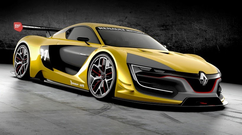 Nuevo Renault Sport R S 01 Renderings 2014: Tecnoneo: Renault Sport R.S. 01 Excelentes Caracteristicas