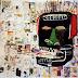 Work of Haitian-Puerto Rican artist Jean-Michel Basquiat at Barbican Art Gallery, UK