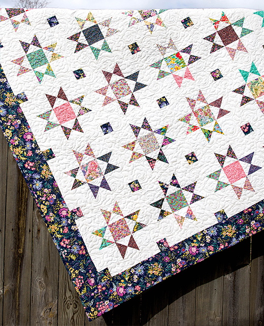The Ohio Star Quilt Free Pattern