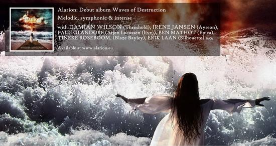 ALARION - Waves Of Destruction (2016) inside