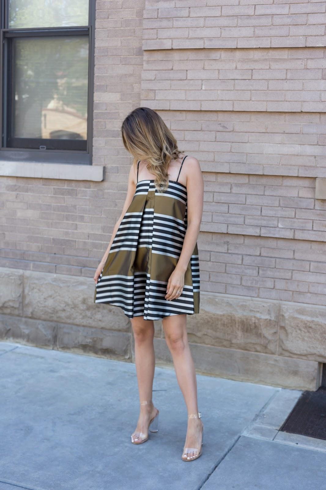 Chic Trapeze Dress