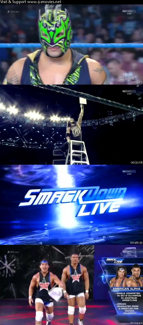 WWE Smackdown Live 29 Nov 2016 HDTV 480p 300mb