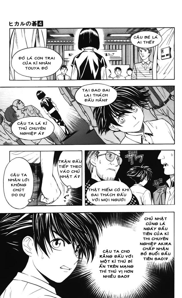 Hikaru No Go hikaru no go chap 34 trang 16