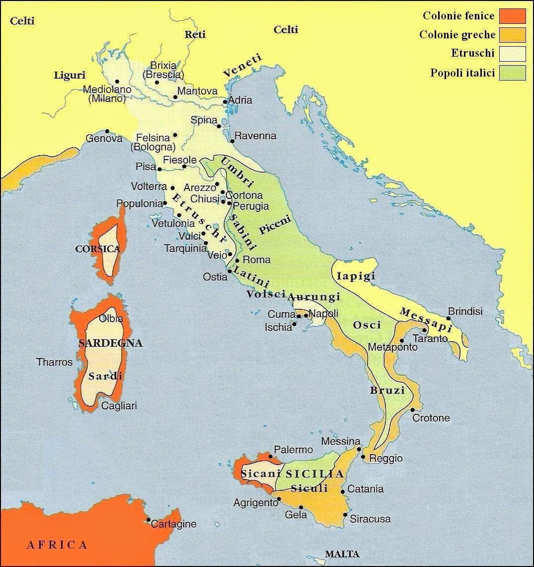 Cartina Italia Xv Secolo