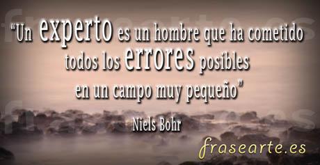 Frases célebres de científicos, Niels Bohr