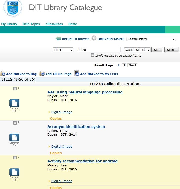 Online dissertation library
