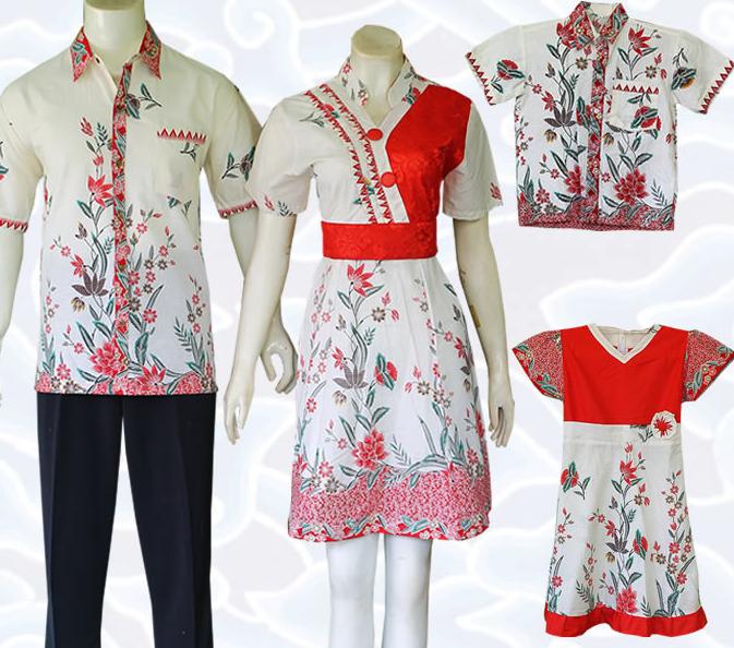 Batik Kerja Sarimbit: Model Baju Batik Sarimbit Untuk Pakaian Seragam Keluarga