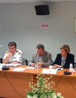 Στο Συμβούλιο Ακτοπλοϊκών Συγκοινωνιών η Περιφερειάρχης Βορείου Αιγαίου