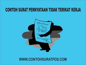 Gambar untuk Contoh Surat Pernyataan Tidak Terikat Kerja Dengan Perusahaan Lain