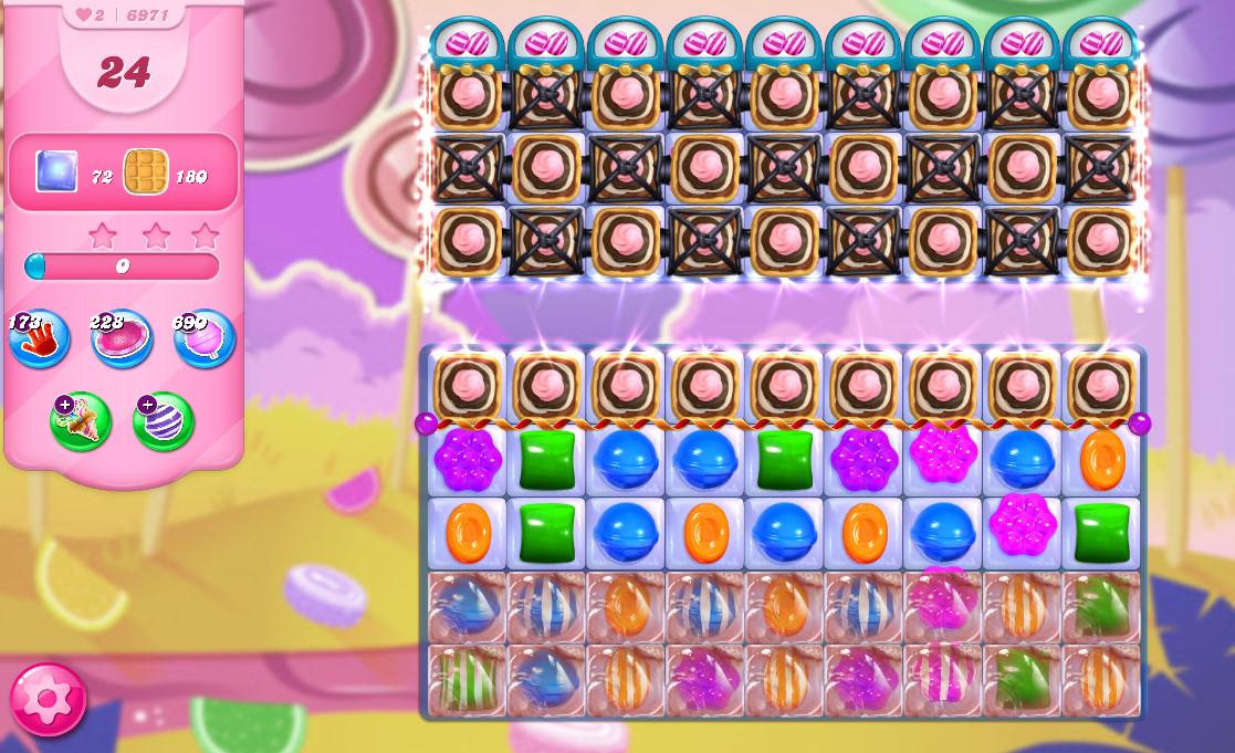 Candy Crush Saga level 6971