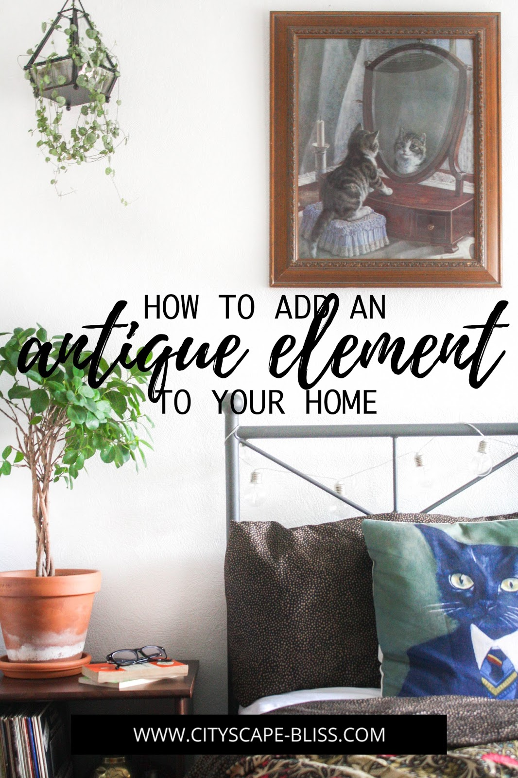 How to add an antique element to your home