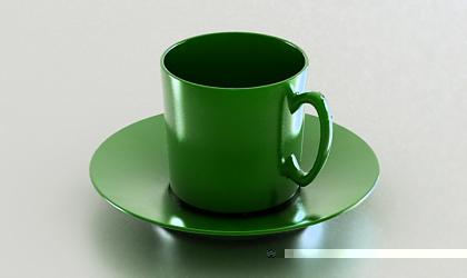 cup 3d model free