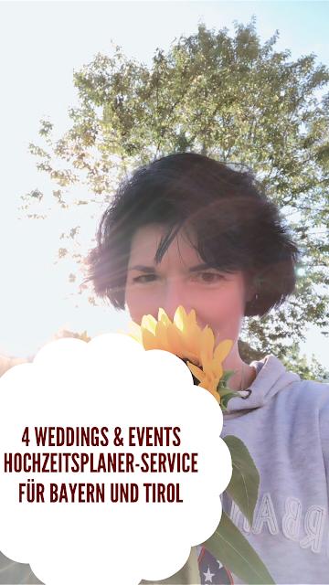 4 weddings & events, Hochzeitsplaner-Service, Bayern, Tirol, Garmisch-Partenkirchen, wedding planner, Hochzeitsplanerin, Uschi Glas, heiraten in den Bergen, Hochzeit in Bayern, Hochzeit in Tirol