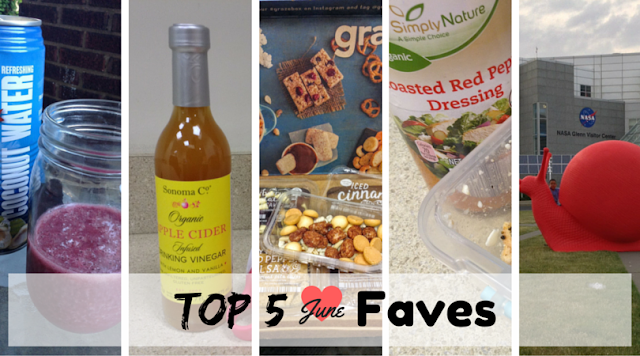 Top 5 Favorites for June