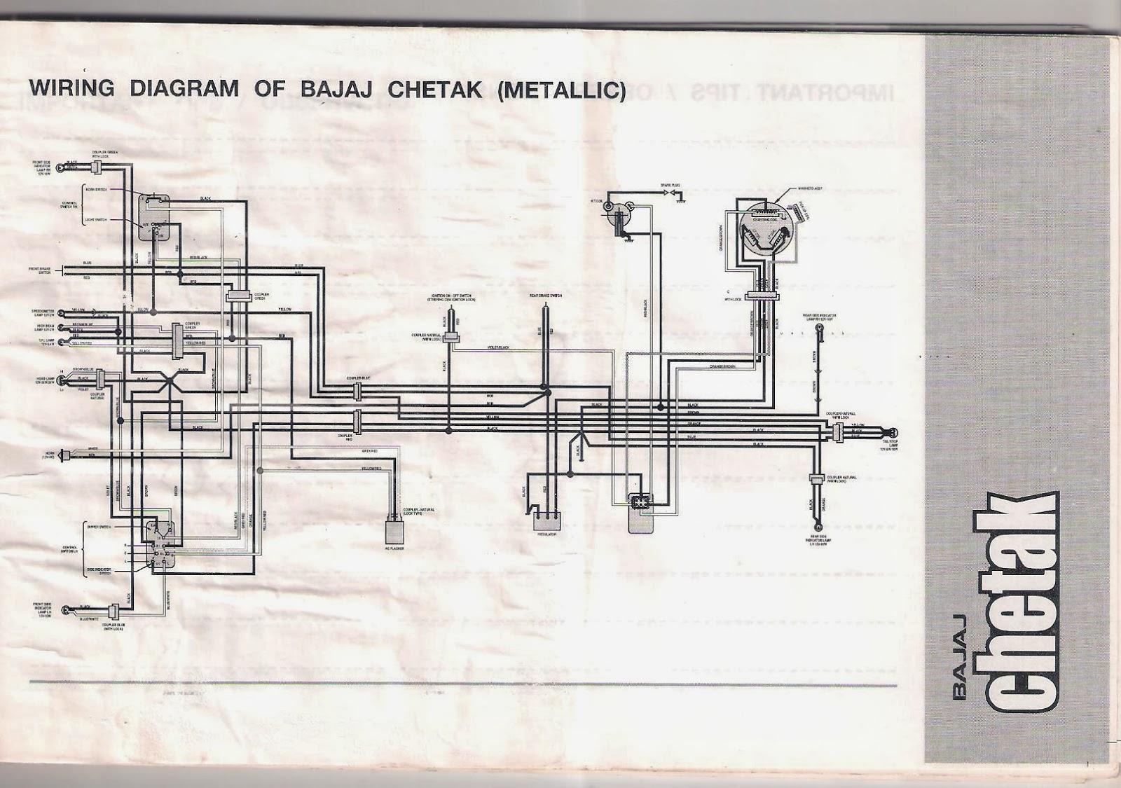 hight resolution of bajaj chetak wiring diagram wiring library bajaj chetak 2005 model owners manual