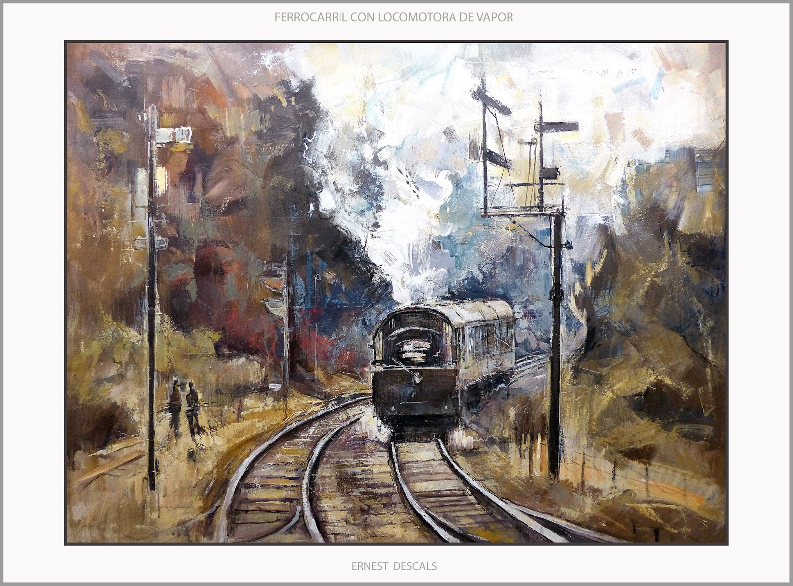 Ernest Descals.Artista Pintor: 11/01/2016 - 12/01/2016