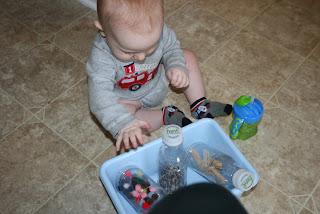 DIY Montessori sensory bottles