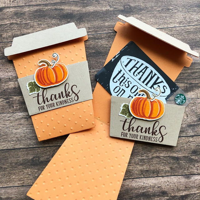 Sunny Studio Stamps: Pretty Pumpkins Autumn Greetings customer card by Dana Kirby