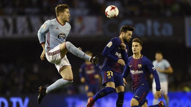 Copa del Rey: Barcelona Diimbangi Celta Vigo 1-1