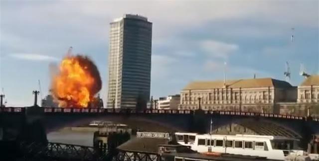 Provoca el pánico en Londres la explosión de un autobús durante el rodaje de la nueva película de Jackie Chan