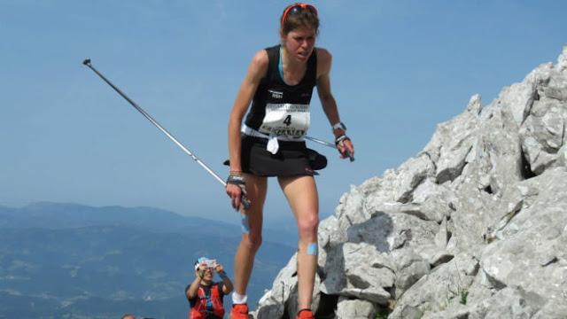 Laura Orgué subcampeona en Skaala Uphill