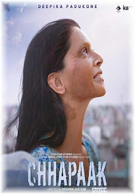 Chhapaak 2020 WebRip Hindi 480p 300MB ESub Poster