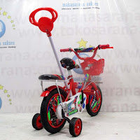 12 morison bmx tongkat sepeda anak ban pompa