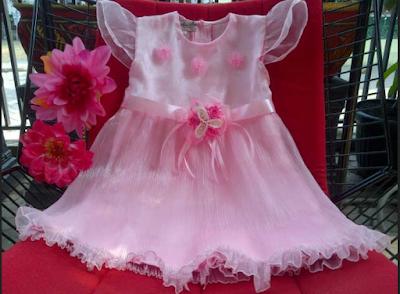 gaun ulang tahun anak perempuan