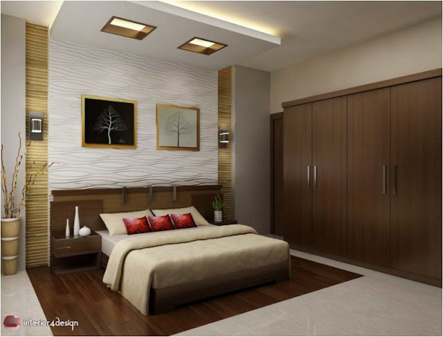 Gypsum Bedroom Designs 1