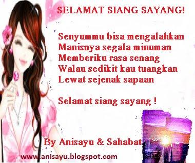PUISI CINTA BY ANISAYU: Kumpulan Puisi Pantun Selamat ...
