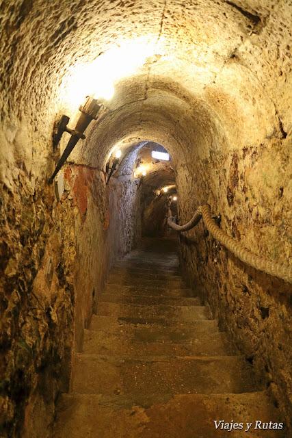 Bajada a la bodega del Lagar de Isilla, Aranda de Duero