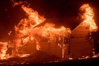 FIRE DEMOLISHED 7 SHOPS, 1 ROOM IN KANO
