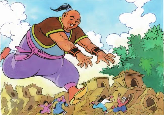قصة العملاق الشقي وملك الاقزام قصة قصيرة هادفة للأطفال الصغار