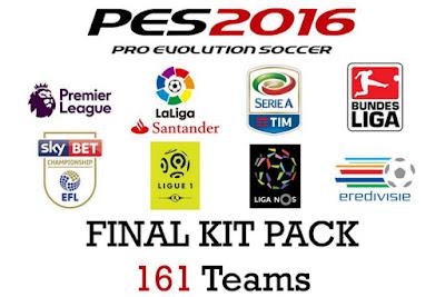 PES 2016 Final Kitpack Season 2016-2017