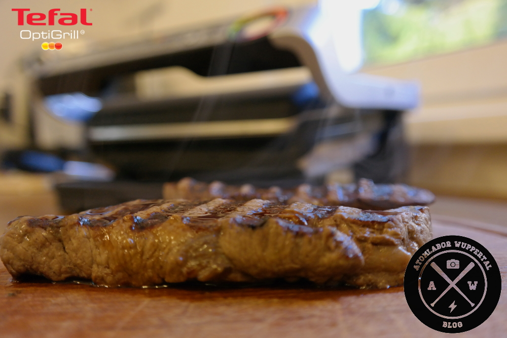 Tefal OptiGrill - Sensor Cooking par excellence - Testbericht - Atomlabor Blog