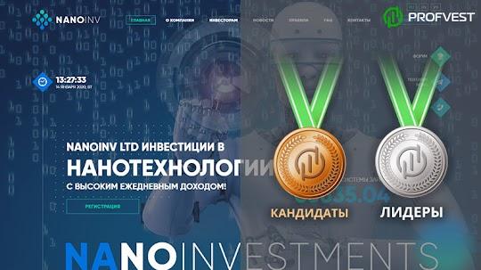 Лидеры: NanoInv LTD – 34% чистой прибыли за 43 рабочих дня!