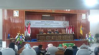 Tim Pansus DPRD Kotabaru Sampaikan 4 Buah Raperda