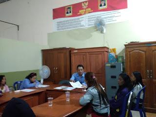 Petugas Gabungan Amankan 9 Pemandu lagu Dan 4 Di Duga PSK Di Wilayah Maospati