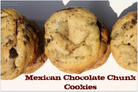 Mexican Chocolate Chunk Cookies