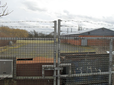 DISUSED: The former Brigg Sugar Factory sportsground at Scawby Brook - picture on Nigel Fisher's Brigg Blog
