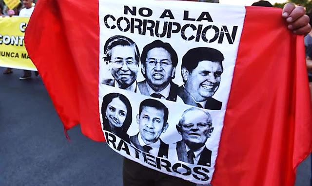 El costo de la corrupción pagan los peruanos