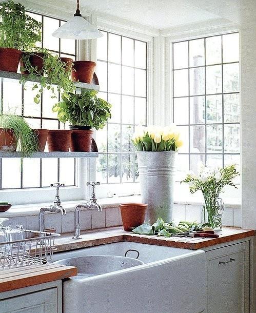 Garden Kitchen Windows Bay Window Above Kitchen Sink: DUSTY: Kitchen Sinks