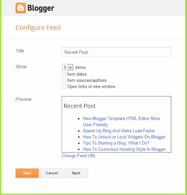 yang tidak menampilkan widget recent post ini Cara buat blog itu- 3 Cara Menampilkan Tulisan Terbaru (Recent Post) di Sidebar Blogger