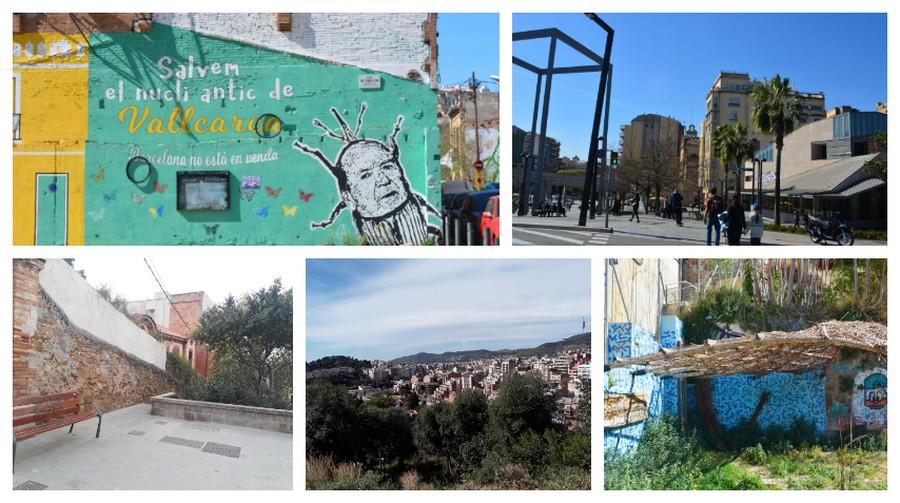 street art de Vallcarca et Lesseps