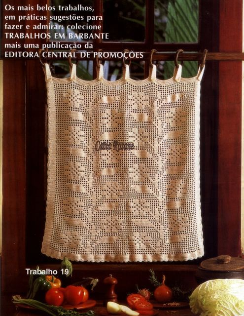 Caminos De Mesa Almohadones Tapetes Revista Crochet